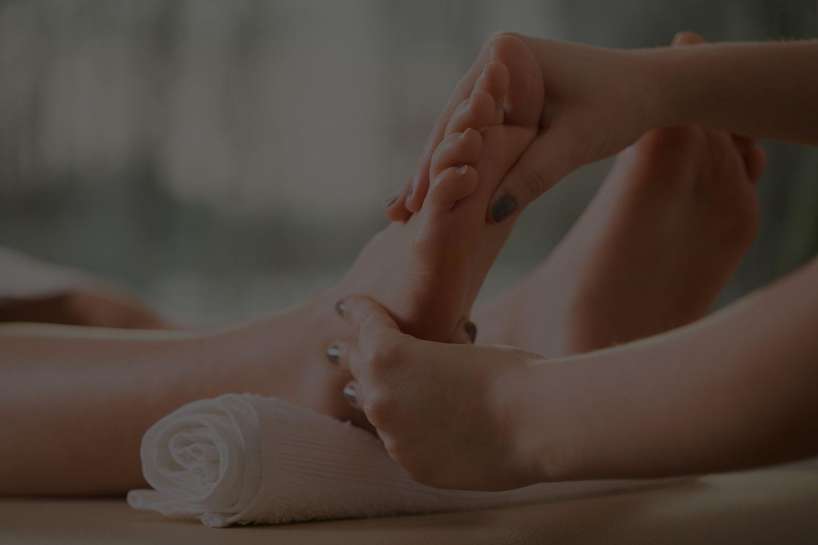 masaże stóp